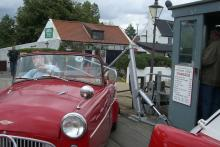 Right hand down: Squeezing micros onto the Reedham Ferry